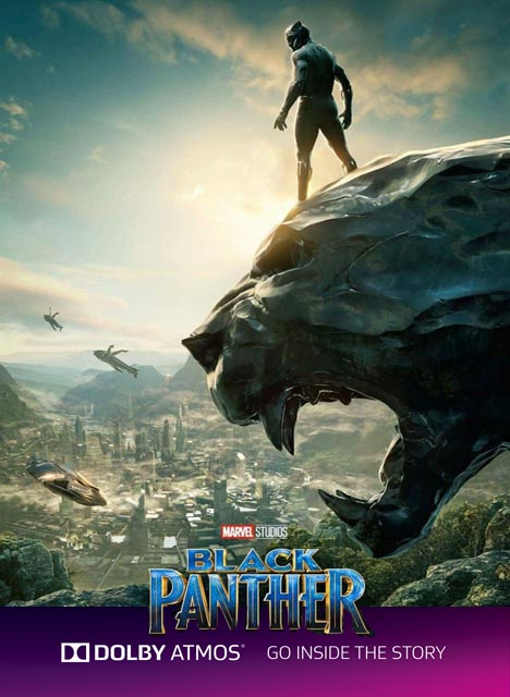 BLACK PANTHER - (DOLBY ATMOS)