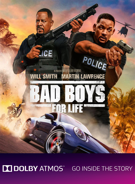 BAD BOYS FOR LIFE - (DOLBY ATMOS)